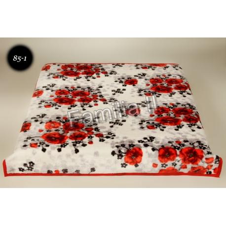 Blanket Elway 160x210 - maki czerwone