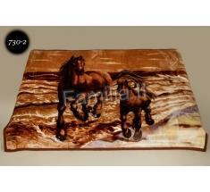 Koc Elway 160x210 - konie na brązie 730-2