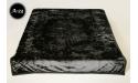 Koc Elway 160x210 - czarny wytłaczany A23