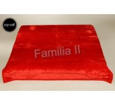 Koc Elway 160x210 - czerwony 03-08
