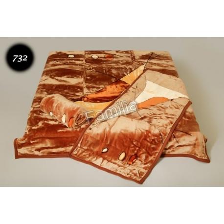Komplet narzut na łóżko i dwa fotele Elway - latawiec 732