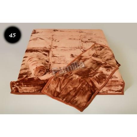Komplet narzut na łóżko i dwa fotele Elway - ciemny brąz 45