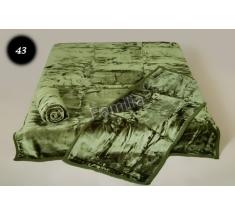 Komplet narzut na łóżko i dwa fotele Elway - ciemny zielony 43