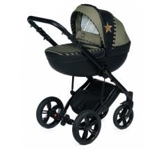 Wózek Dada Paradiso STARS KHAKI - 2w1 (gondola + spacerówka) - wysyłka 24h
