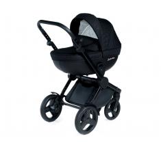 Wózek Dada Paradiso BLACK CODE - 3w1 (gondola + spacerówka + fotelik samochodowy)