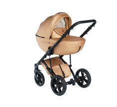 Wózek Dada Paradiso GOLDEN ROSE - 3w1 (gondola + spacerówka + fotelik z adapterem) - wysyłka 24h