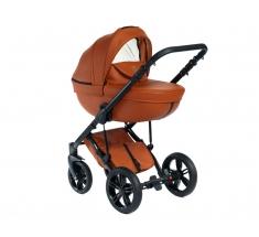 Wózek Dada Paradiso Max 500 CINNAMON - 3w1 (gondola + spacerówka + fotelik z adapterem)