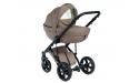 Wózek Dada Paradiso Max 500 NATURAL BEIGE - 4w1 (gondola + spacerówka + fotelik samochodowy + baza)