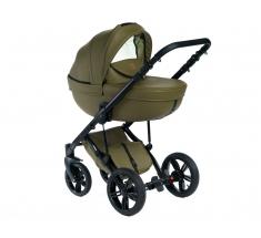 Wózek Dada Paradiso Max 500 OLIVE - 4w1 (gondola + spacerówka + fotelik samochodowy + baza)
