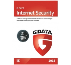 G Data INTERNET SECURITY 1PC / 2 LATA - 2018