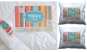 HAPPY INTER-WIDEX SET blanket 220x200 + 2x Pillow 70x80