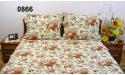 Pościel z kory 160x200 - 100% bawełna (0866) - wysyłka 24h