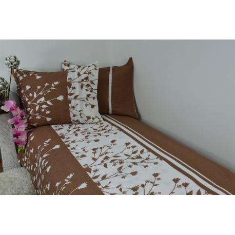Pościel z kory 160x200 - 100% bawełna (1811) - wysyłka 24h