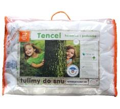 Komplet TENCEL Kołdra dla dziecka 100x135 + Poduszka 40x60 INTER-WIDEX - wysyłka 24h