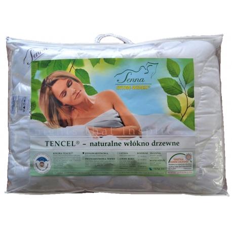 Kołdra naturalna TENCEL 155x200 INTER-WIDEX