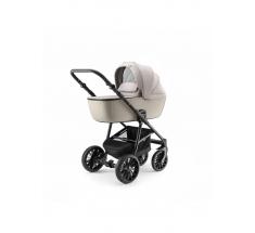 Wózek Dada Paradiso APUS Grey - 3w1 (gondola + spacerówka + fotelik samochodowy)