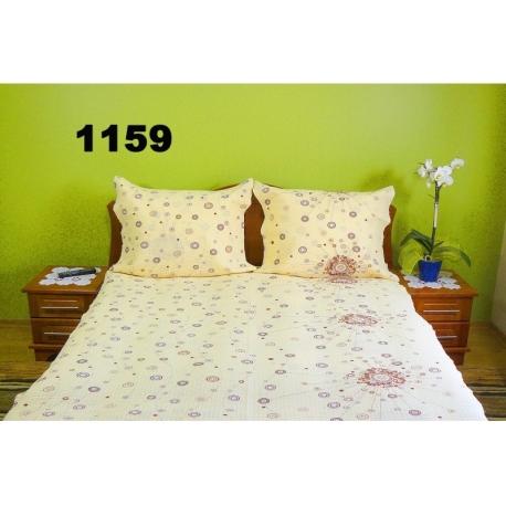 Pościel z kory 160x200 - 100% bawełna (1159) - wysyłka 24h