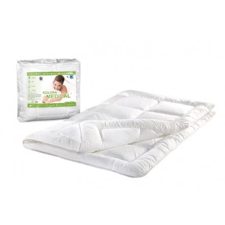 Kołdra antyalergiczna 160x200 Medical ® 1,20 kg biała AMW - wysyłka 24h
