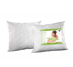 Poduszka antyalergiczna 50x70 Medical ® + z zamkiem biała AMW - wysyłka 24h