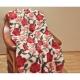 Koc Merynos Europejski 160x200 - Garden czerwony