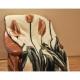 Koc Merynos Europejski 160x200 - Tulipan brąz