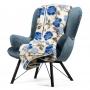 Koc Merynos Europejski 160x200 - Garden niebieski
