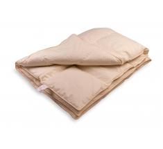 Kołdra Puchowa 220x200 cm 2 kg - puch gęsi - KREMOWA