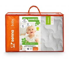 Komplet BAMBOO Kołdra dla dziecka 100x135 + Poduszka 40x60 INTER-WIDEX - wysyłka 24h