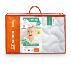 Komplet TENCEL Kołdra dla dziecka 90x120 + Poduszka 40x60 BOTANICA INTER-WIDEX - wysyłka 24h