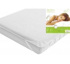 Waterproof mattress protector BAMBOO 160x200 cm - INTER-WIDEX