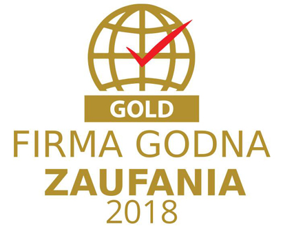 Jesteśmy Firmą Godną Zaufania - GOLD!