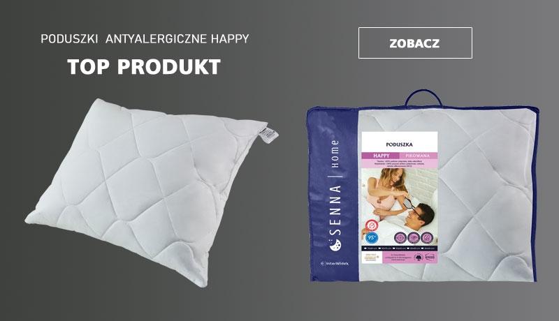 Poduszki antyalergiczne HAPPY - Top Produkt