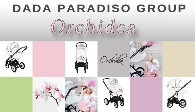 Wózek dziecięcy wielofunkcyjny - Orchidea