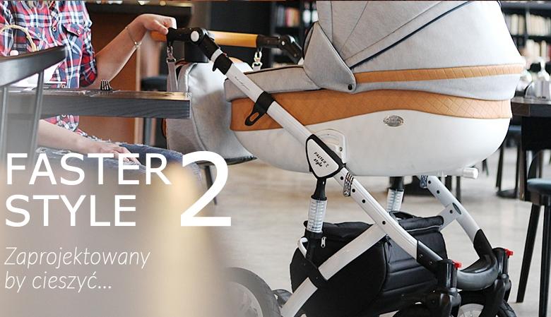 Wózek BabyMerc - Faster Style 2