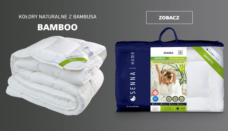 Kołdry naturalne z bambusa BAMBOO